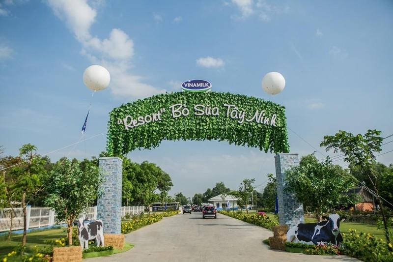 """Khánh thành """"Resort"""" bò sữa Vinamilk Tây Ninh - ảnh 1"""