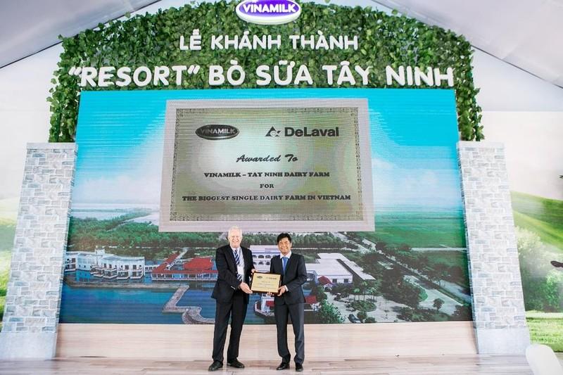 """Khánh thành """"Resort"""" bò sữa Vinamilk Tây Ninh - ảnh 2"""