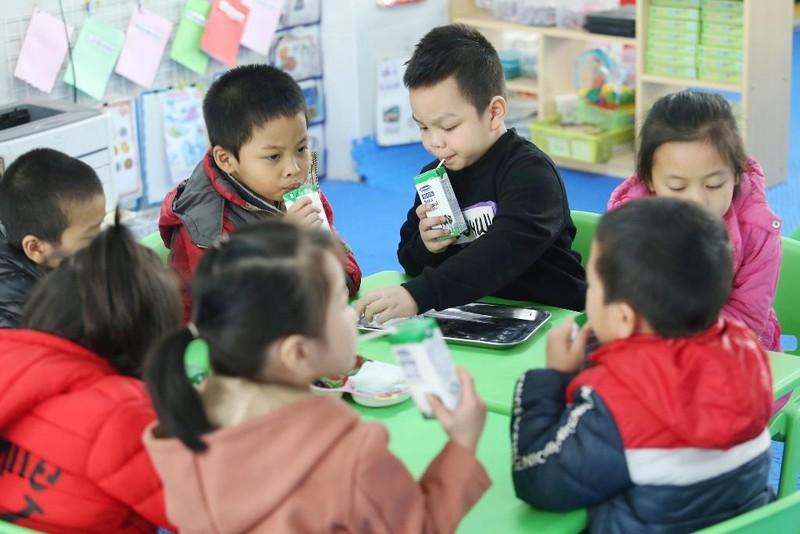 Ly sữa học đường an toàn, hiệu quả cho trẻ thủ đô - ảnh 1