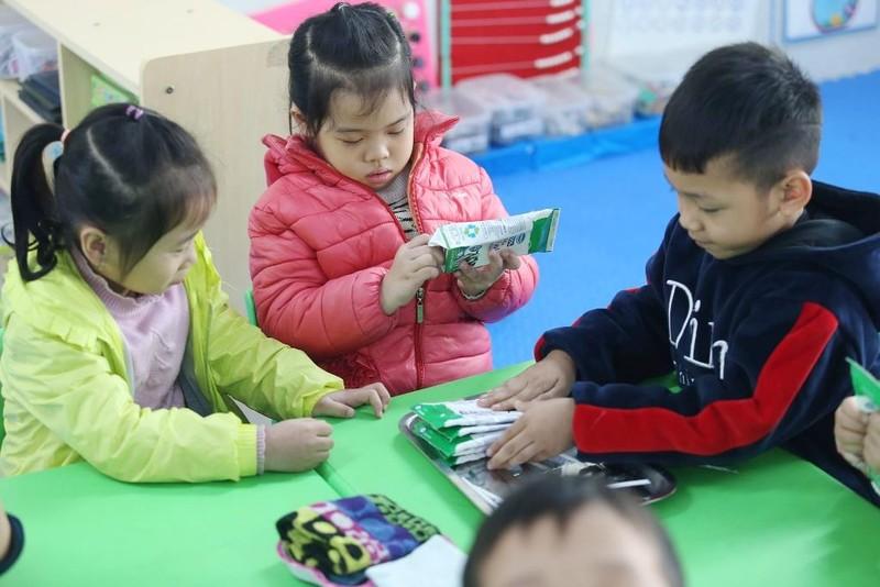 Ly sữa học đường an toàn, hiệu quả cho trẻ thủ đô - ảnh 2
