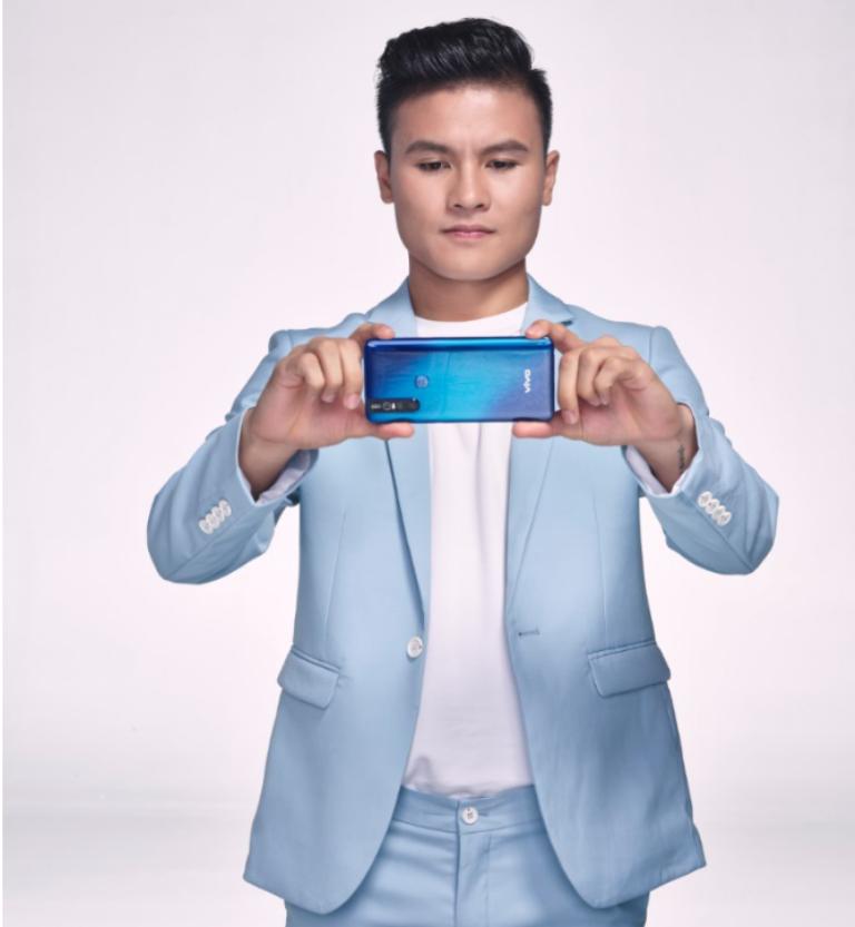 Quang Hải trở thành đại sứ thương hiệu cho Vivo V15 - ảnh 1