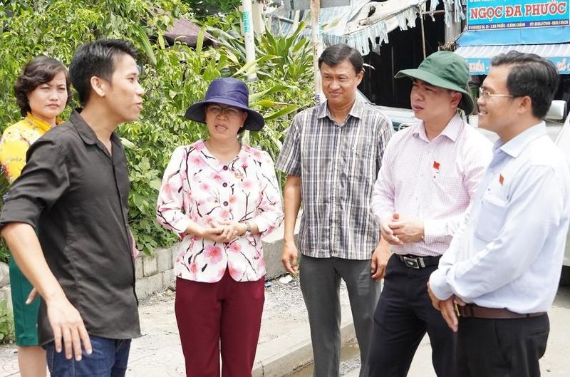 Giám sát dự án vành đai cây xanh cách ly bãi rác Đa Phước - ảnh 2