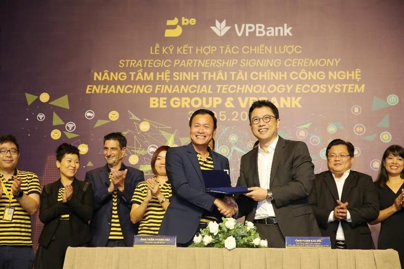 VPBank ký hợp tác với BE Group phát triển hệ sinh thái - ảnh 1