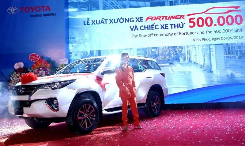 Toyota Việt Nam xuất xưởng chiếc xe thứ 500.000 - ảnh 1