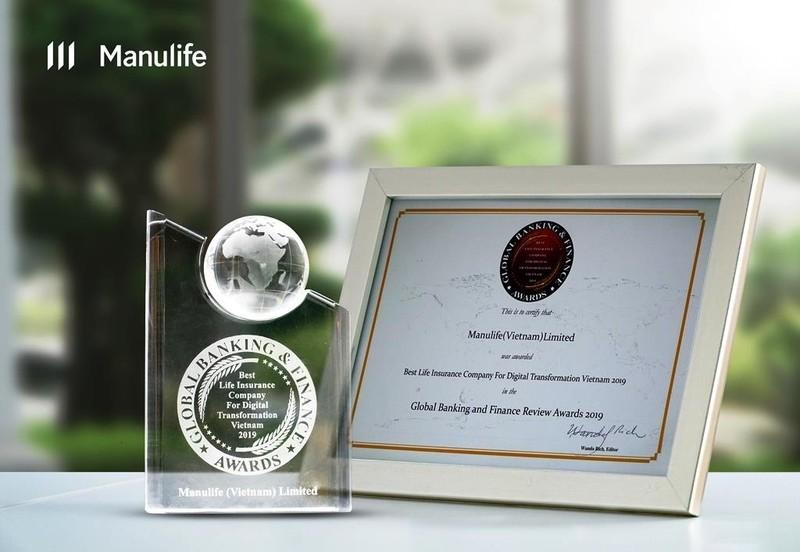 Manulife: công ty BHNT tốt nhất về chuyển đổi số hóa tại VN - ảnh 1