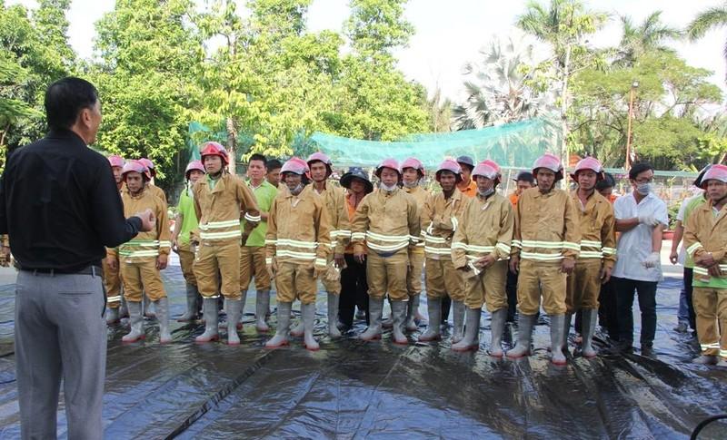 Diễn tập PCCC và cứu hộ cứu nạn tại bãi rác Đa Phước - ảnh 4