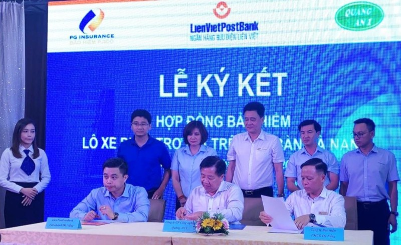 LienVietPostBank cung cấp dịch vụ bảo hiểm xe buýt ở Đà Nẵng - ảnh 1