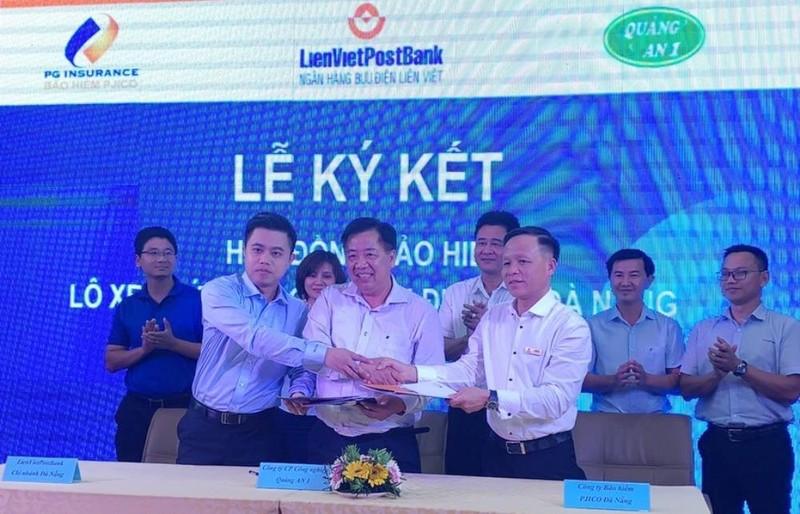 LienVietPostBank cung cấp dịch vụ bảo hiểm xe buýt ở Đà Nẵng - ảnh 2
