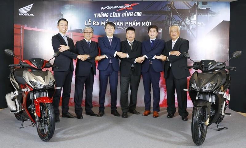 """Ra mắt Honda WINNER X với chủ đề """"Thống lĩnh đỉnh cao"""" - ảnh 1"""