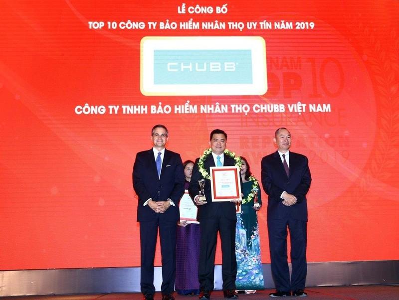 Chubb Life Việt Nam: Top 10 doanh nghiệp BHNT uy tín 2019 - ảnh 1