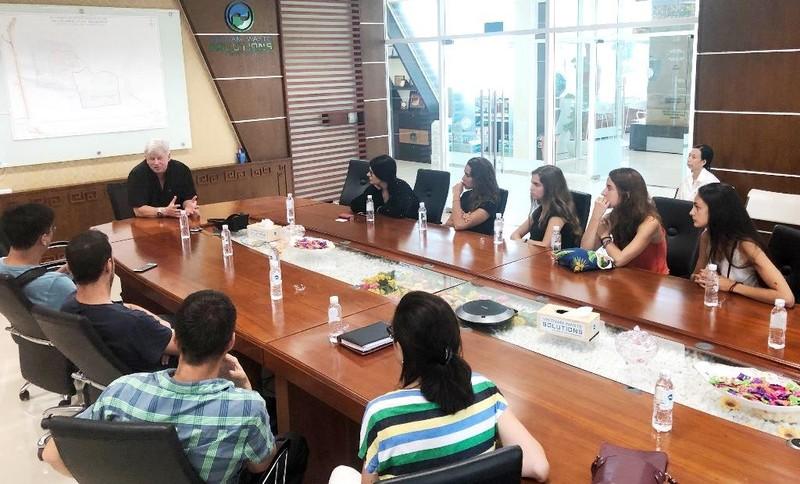 Đoàn kỹ sư, kiến trúc sư Barcelona, RMIT tìm hiểu Đa Phước - ảnh 1