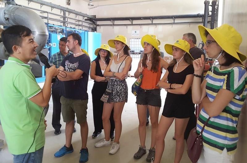 Đoàn kỹ sư, kiến trúc sư Barcelona, RMIT tìm hiểu Đa Phước - ảnh 2