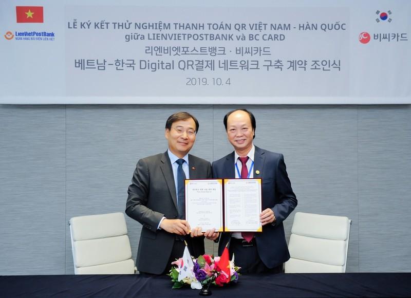 LienVietPostBank và BC Card ký thỏa thuận hợp tác toàn diện - ảnh 1
