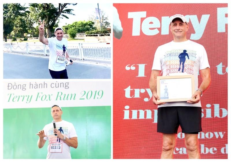 Manulife Việt Nam đồng hành cùng Terry Fox Run 2019 - ảnh 1