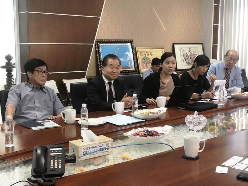 DN Nhật gặp gỡ David Duong chào bán công nghệ xử lý rác thải - ảnh 1