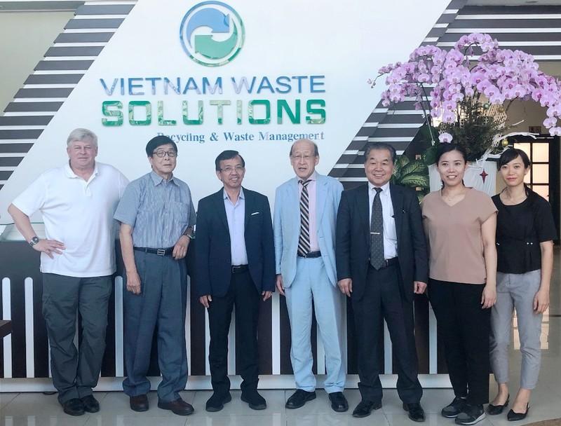 DN Nhật gặp gỡ David Duong chào bán công nghệ xử lý rác thải - ảnh 3