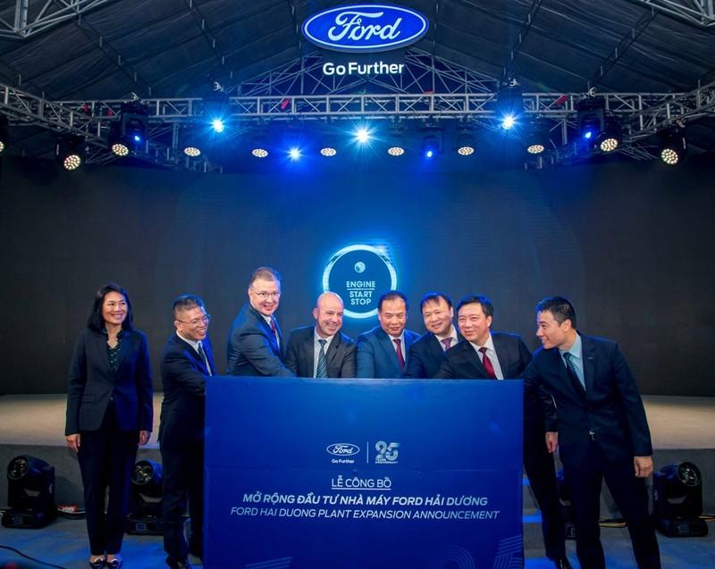 Ford Việt Nam đầu tư thêm 82 triệu USD mở rộng nhà máy - ảnh 1