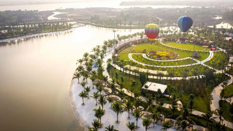 Độc đáo bay khinh khí cầu ngay giữa lòng Sài Gòn - ảnh 2