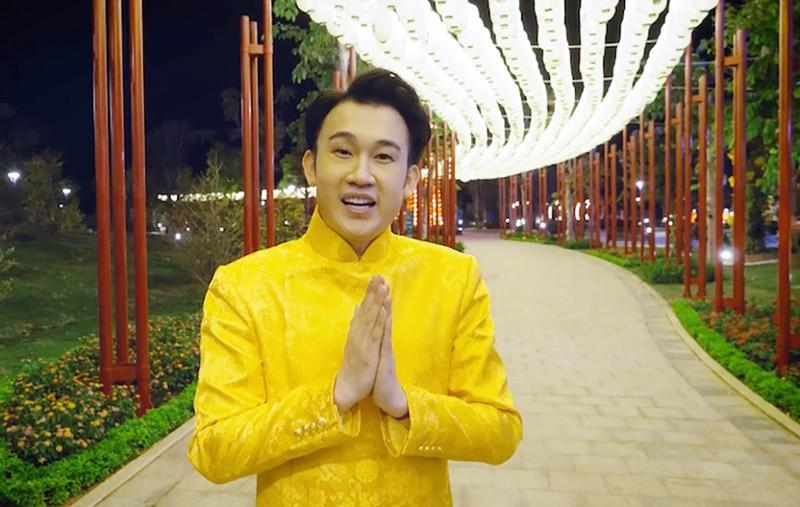 Dương Triệu Vũ 'bật mí bùng nổ' ở hậu trường MV tết - ảnh 9