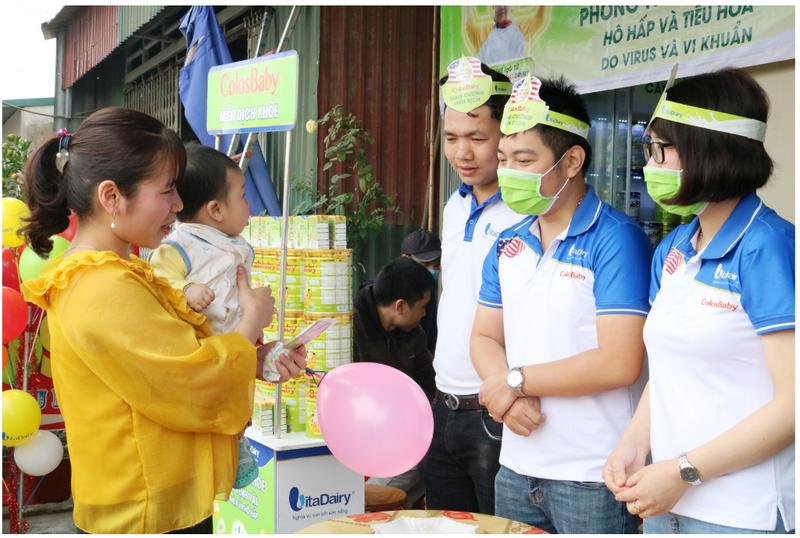VitaDairy tặng 1 triệu gói sữa non giúp chống dịch COVID-19 - ảnh 1