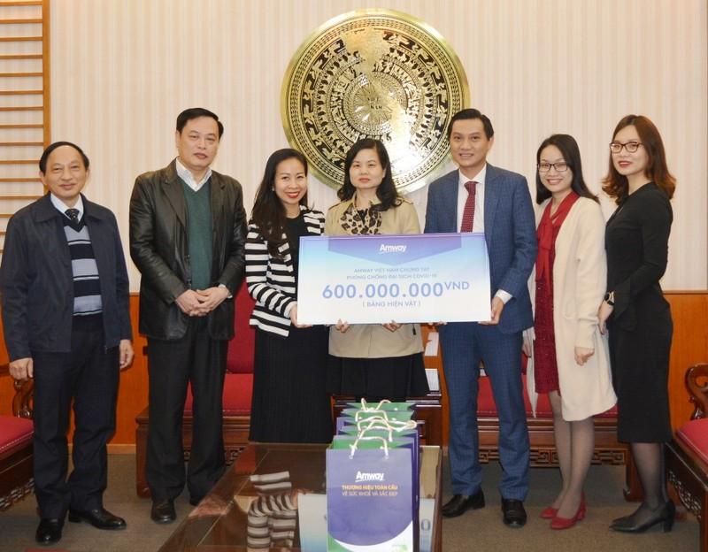 Amway Việt Nam chung tay phòng, chống dịch COVID-19 - ảnh 1