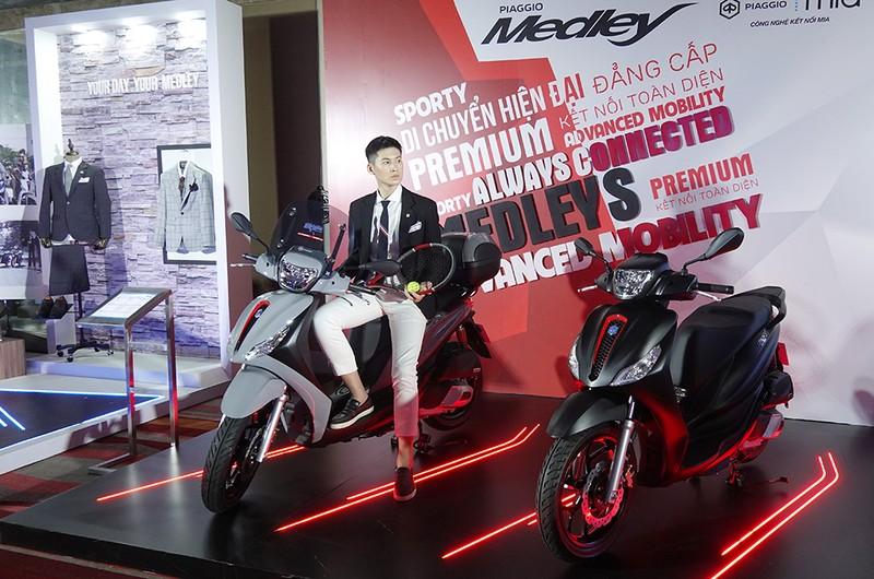 Ra mắt Piaggio Medley 2020 có giá từ 75 triệu đồng - ảnh 2