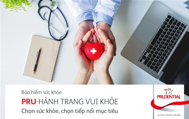 Ra mắt sản phẩm bảo hiểm sức khỏe 'PRU - Hành trang vui khỏe' - ảnh 1
