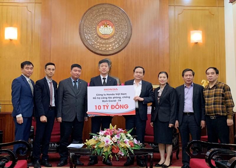 Honda chung tay cùng Chính phủ phòng chống dịch COVID-19 - ảnh 1