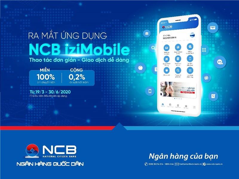 Ra mắt NCB iziMobile phiên bản mới với nhiều ưu đãi - ảnh 1