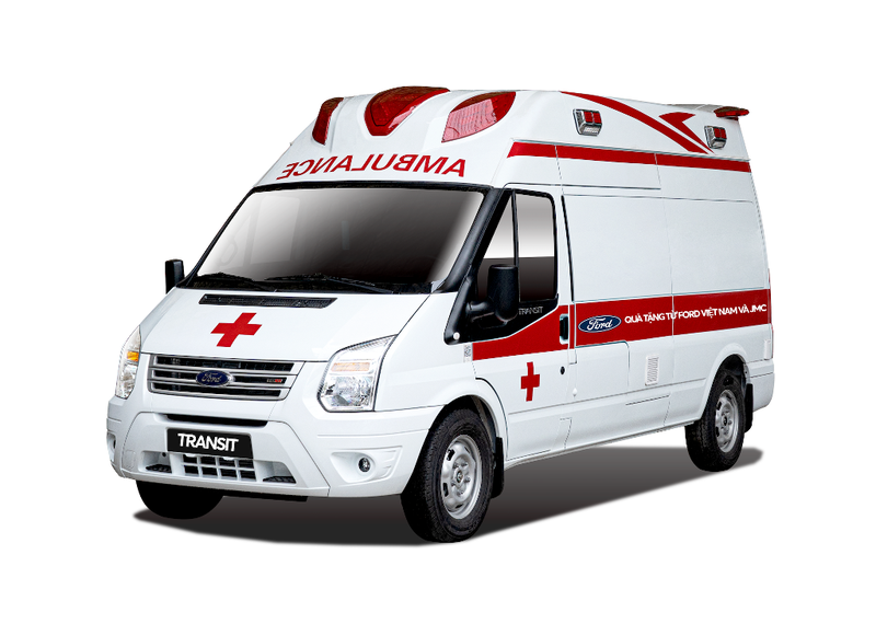 Ford tặng xe cứu thương cho BV Bệnh nhiệt đới trung ương - ảnh 1