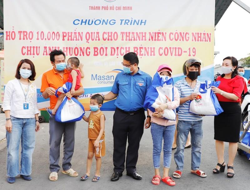 Masan Consumer tặng 10.000 phần quà cho công nhân ở TP.HCM - ảnh 1