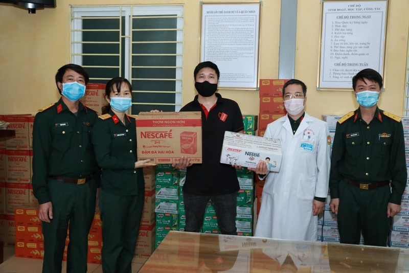 Nestlé Việt Nam hỗ trợ 12 tỉ đồng chống dịch COVID-19 - ảnh 1