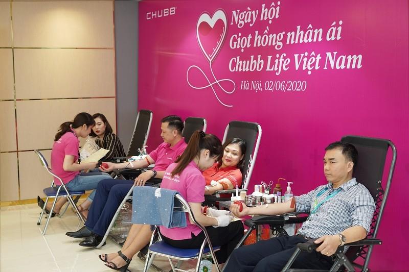 Chubb Life Việt Nam tổ chức chương trình hiến máu tình nguyện - ảnh 1