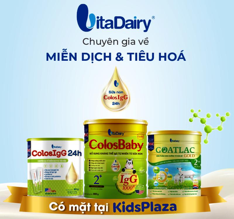 Sản phẩm VitaDairy có mặt ở hệ thống Kids Plaza toàn quốc - ảnh 1