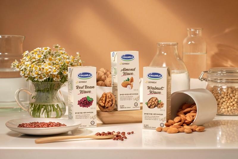 Vinamilk xuất khẩu sữa hạt cao cấp sang thị trường Hàn Quốc - ảnh 1