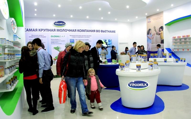 Vinamilk được xuất khẩu sữa vào Nga và khối liên minh Á Âu - ảnh 1