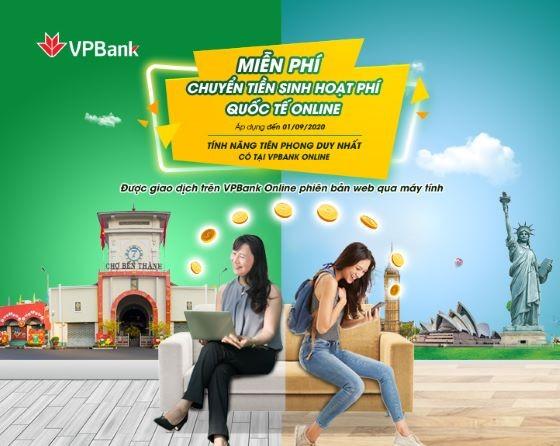VPBank miễn phí chuyển tiền quốc tế cho du học sinh qua online - ảnh 1