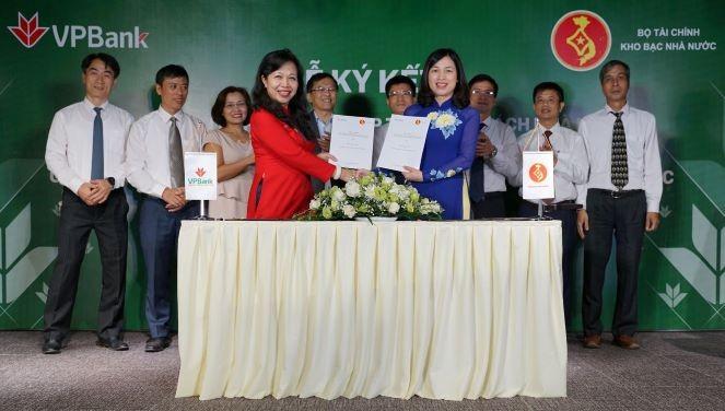 VPBank ký thỏa thuận thu ngân sách và thanh toán song phương - ảnh 1