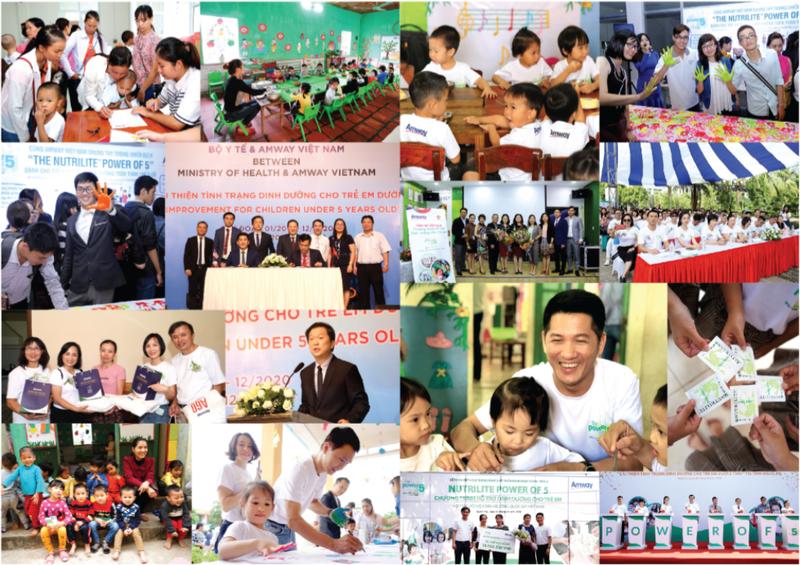 Amway Việt Nam đóng góp hơn 19 tỷ đồng cho cộng đồng năm 2019 - ảnh 1
