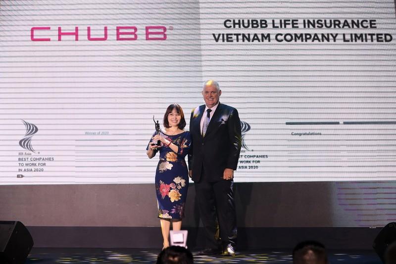 Chubb Life Việt Nam: Nơi làm việc tốt nhất Châu Á năm 2020 - ảnh 1