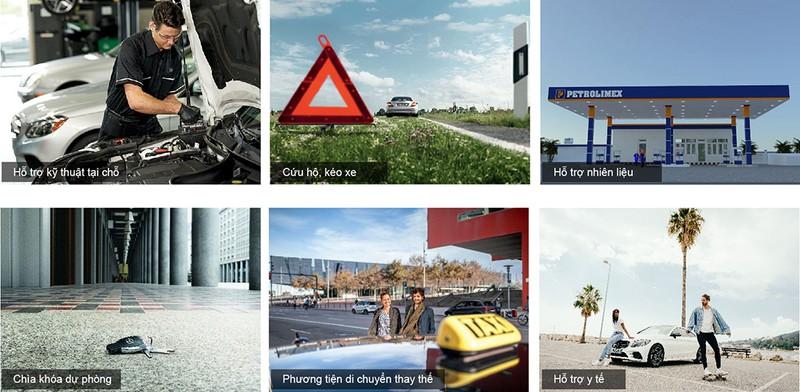 Mercedes-Benz ra mắt dịch vụ hỗ trợ 24h - ảnh 1