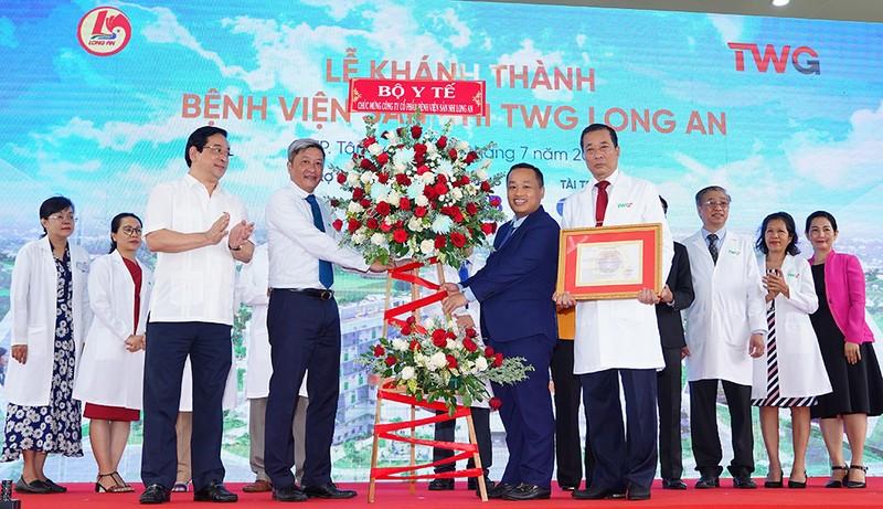 Khánh thành Bệnh viện Sản nhi TWG Long An - ảnh 1