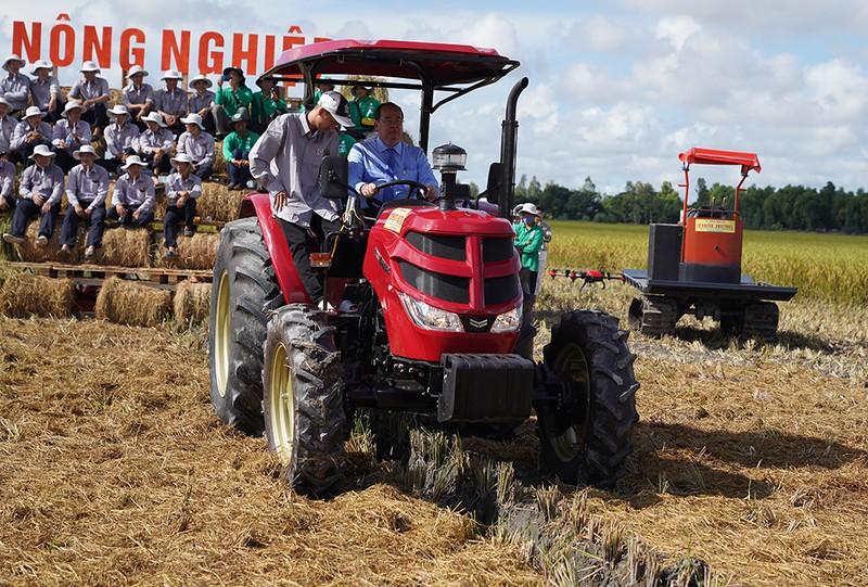 Tập đoàn Lộc Trời: chuỗi liên kết HTX nông nghiệp kiểu mới - ảnh 1