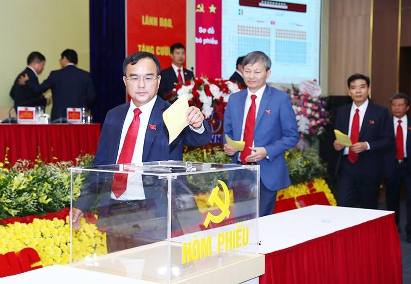 Ông Dương Quang Thành tái cử Bí thư Đảng ủy EVN - ảnh 1