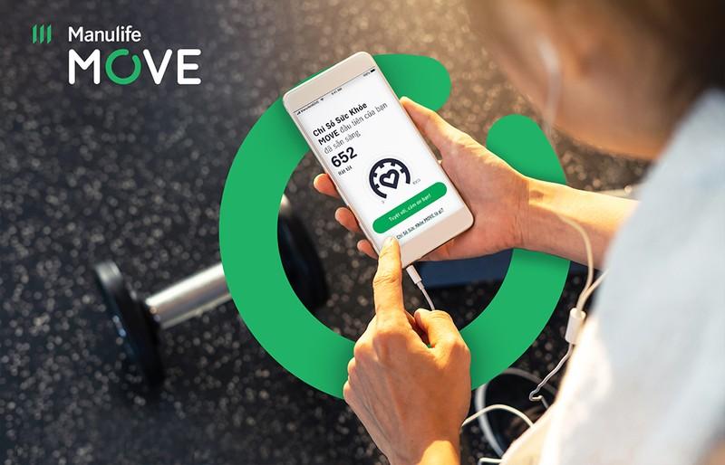 """ManulifeMOVE: tính năng mới về """"Chỉ số sức khỏe"""" khách hàng - ảnh 1"""