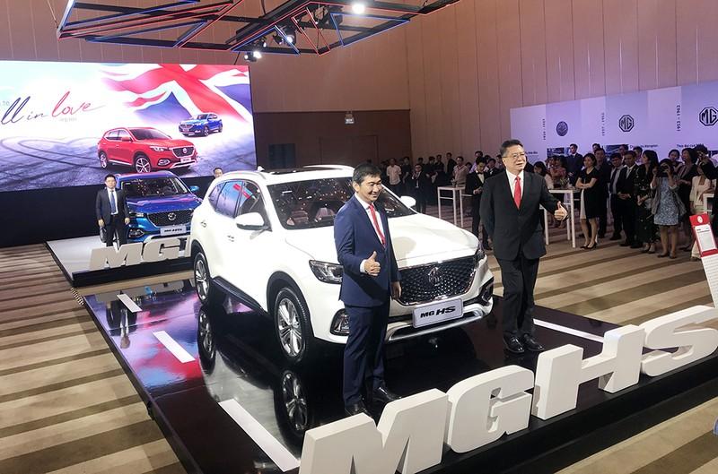 MG Việt Nam ra mắt 2 mẫu xe SUV hạng B và C - ảnh 1