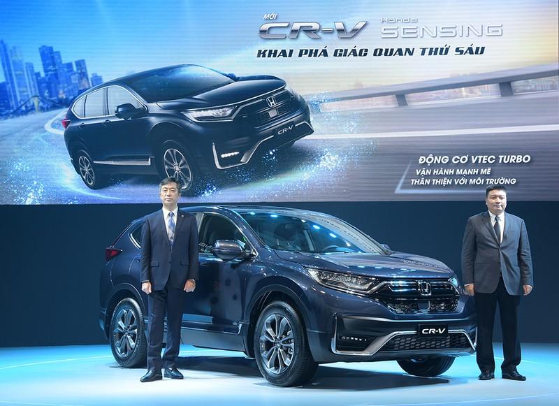 Ra mắt Honda CR-V 2020: Khai phá giác quan thứ sáu - ảnh 1