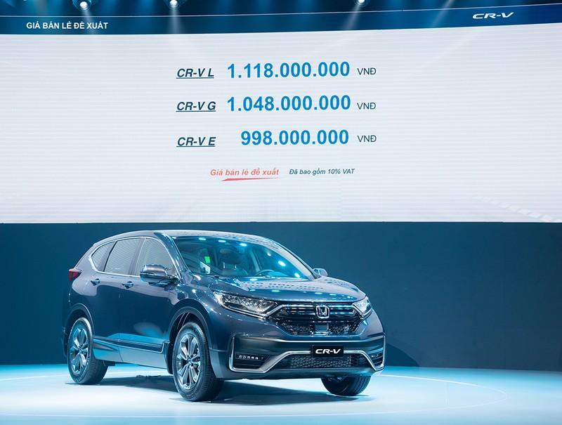 Ra mắt Honda CR-V 2020: Khai phá giác quan thứ sáu - ảnh 2
