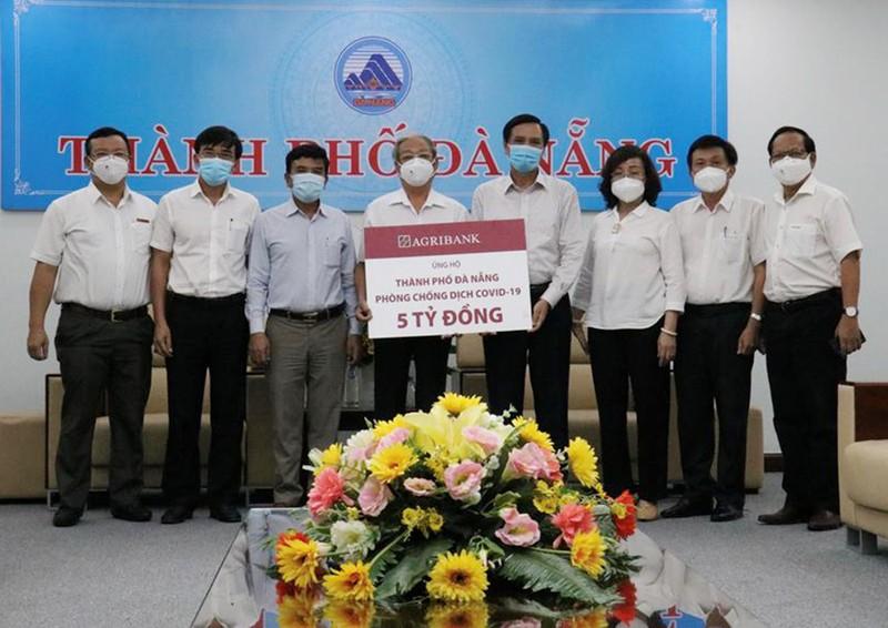 Agribank ủng hộ 5 tỷ đồng cho Đà Nẵng chống dịch COVID-19 - ảnh 1
