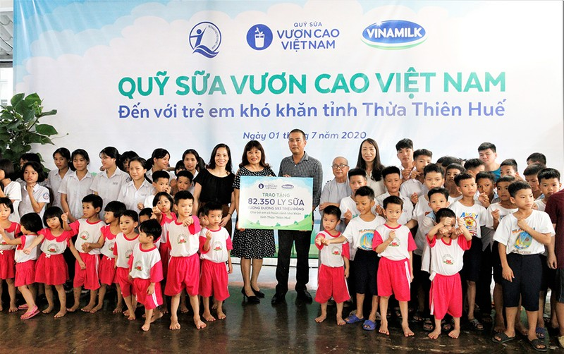 Vinamilk: Để mọi trẻ em được uống sữa mỗi ngày - ảnh 4